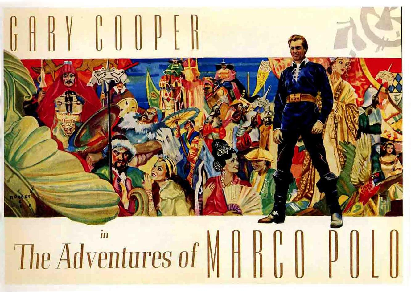 the adventures of marco polo Gary cooper is the most unlikely marco polo, but that didn't stop producer samuel goldwyn from casting him in this would-be tongue-in-cheek spectacular trouble is, it's not funny enough, nor at all spectacular, and, with cheesy art direction that cries out for technicolor, the end result is both silly and dull also surprisingly.