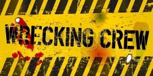 20246060-warning-sign-wrecking-crew-vector