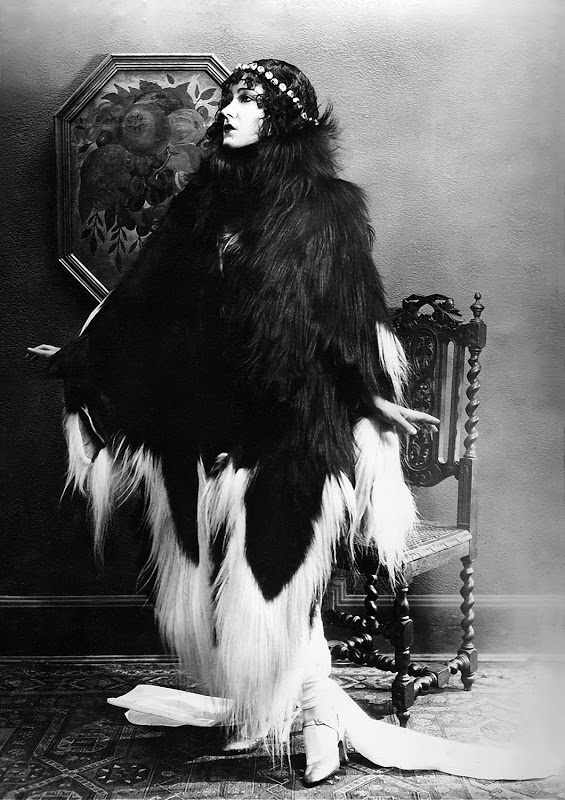 swanson monkey fur coat