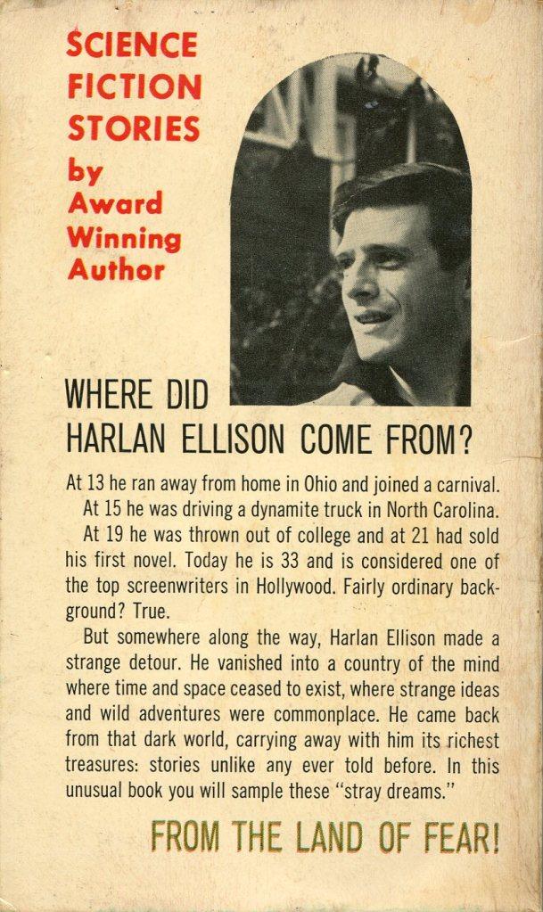 11 Harlan Ellison From the Land of Fear Belmont 067