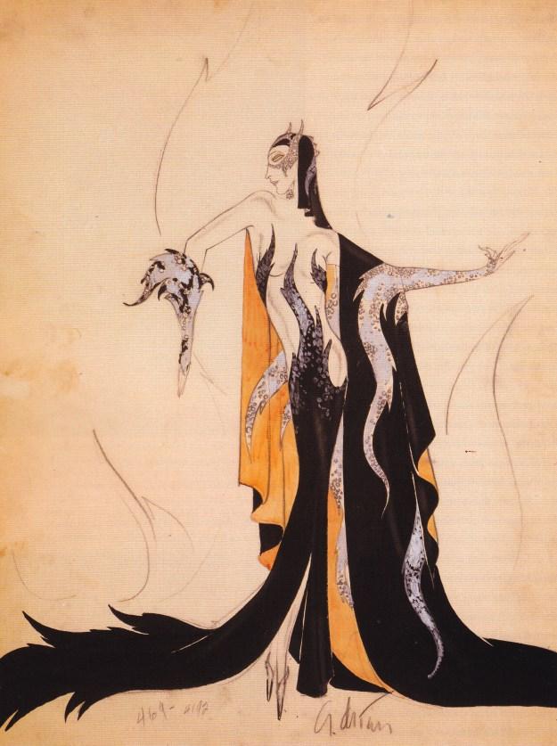 The original design of Madam Satan's costume exposed A LOT of skin...