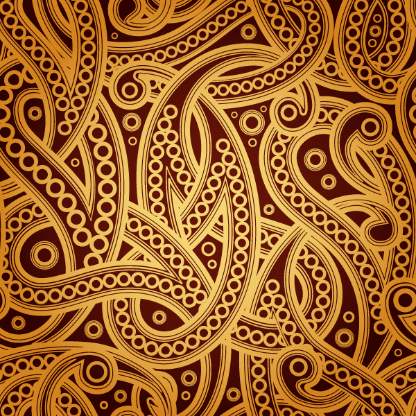 Awesome 152 Free Vector Vintage Paisley Pattern Background.png