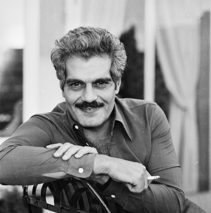 8th October 1974:  Egyptian actor Omar Sharif, born Michel Shahoub in Alexandria.  (Photo by D. Morrison/Express/Getty Images)