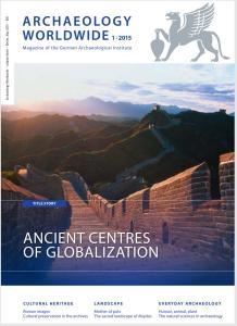 Cover Archäologie Weltweit 1-2015 en
