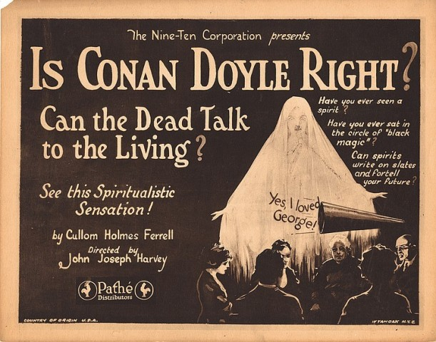 conan doyle ghosts