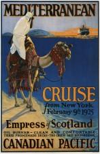 Mediterranean-cruise-advertising-canvas-print-poster-1925