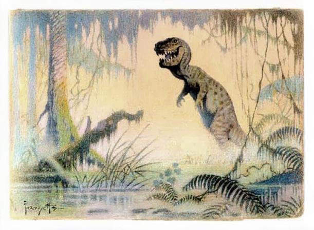 Frazetta tyrannosaurus