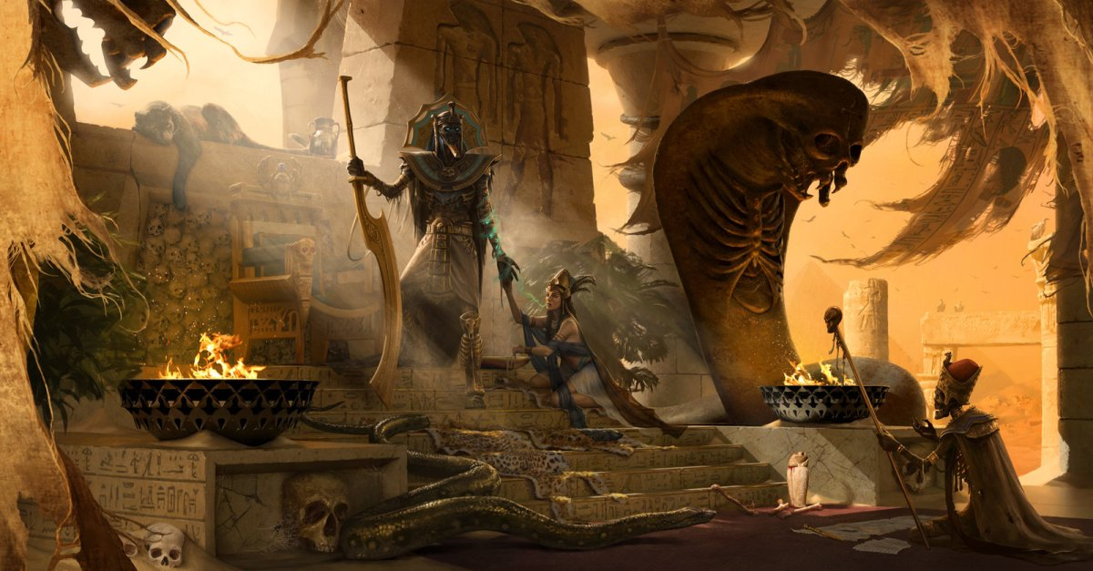 Writing Prompt - Tomb king