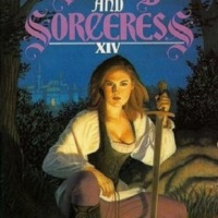 A girl and a gun, a sword and a sorceress