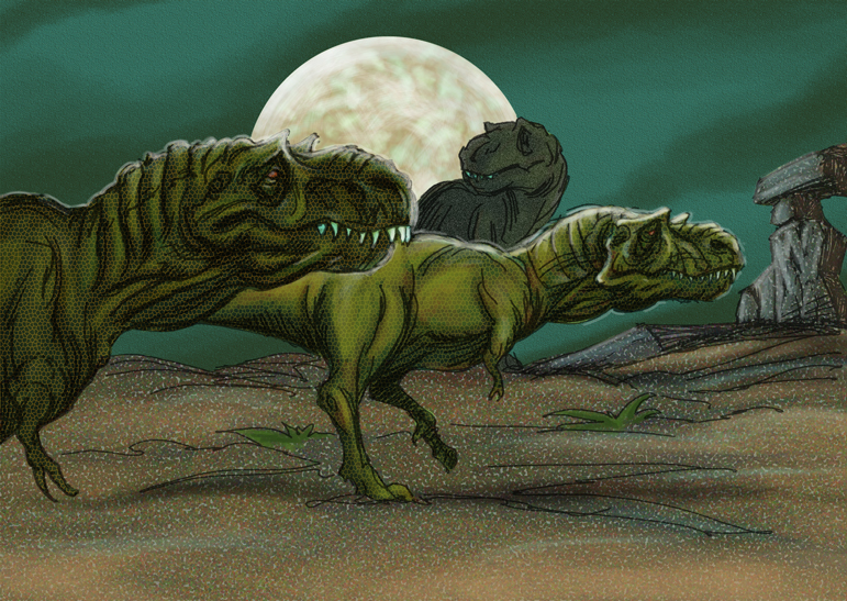 trex_pack_hunter__by_grobles63-d3a9vrr