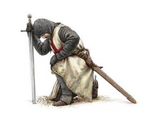 knightpraying