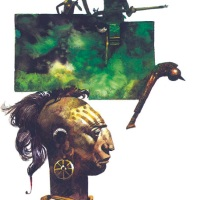 From Japan to the Land of Punt: Sergio Toppi, a colour gallery
