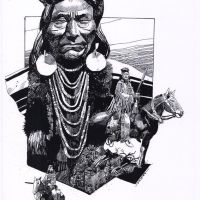From the Bible to the Wild West: Sergio Toppi, a black and white gallery