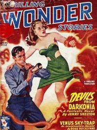 1945 Q1 Thrilling Wonder Stories by Earle Bergey