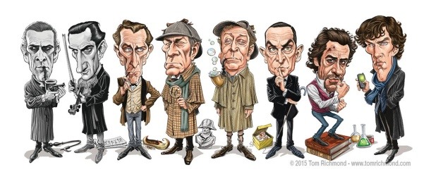 The many faces of Holmes