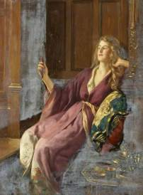 Collier, John; The Minx; Swindon Museum Art Collection; http://www.artuk.org/artworks/the-minx-65034