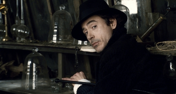 "SHH-FP-010 ROBERT DOWNEY JR. as Sherlock Holmes in Warner Bros. Pictures' and Village Roadshow Pictures' action-adventure mystery ""Sherlock Holmes,"" distributed by Warner Bros. Pictures."
