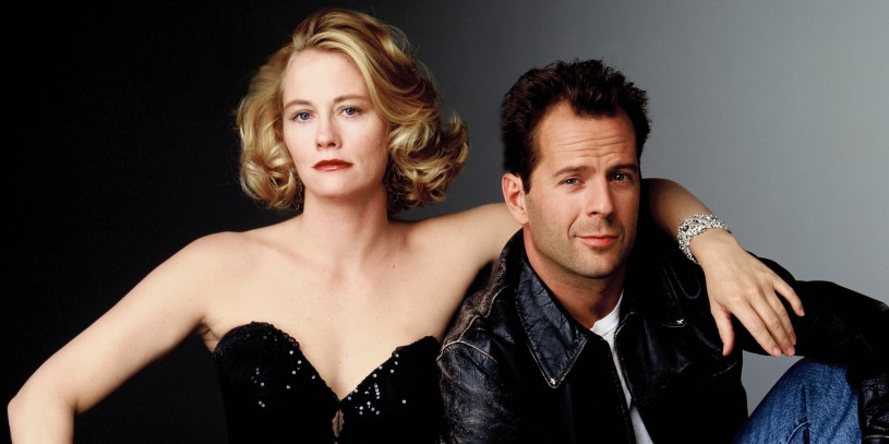 UNITED STATES - DECEMBER 10: MOONLIGHTING - Gallery - Season Five - 12/10/1988, Cybill Shepherd (Maddie), Bruce Willis (David) , (Photo by ABC Photo Archives/ABC via Getty Images)