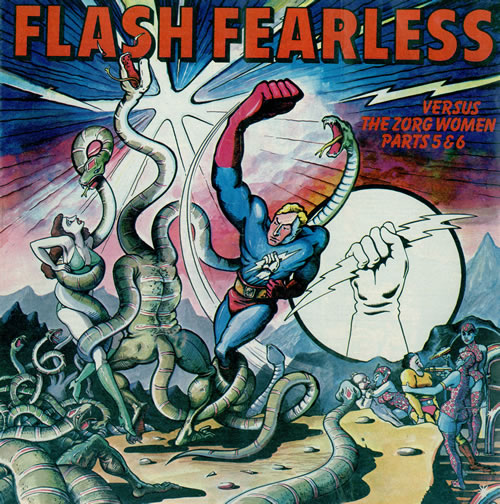 VARIOUS-60S_&_70S_FLASH+FEARLESS+VERSUS+THE+ZORG+WOMEN-476028