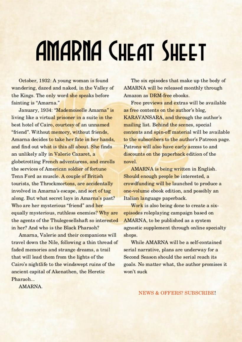 AMARNA CHEAT SHEET2