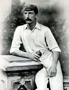 Sport, Cricket, Circa 1895, Charles Aubrey Smith, played for Sussex from 1882-1896, During that time he played for England only once in1888, but made captain, Smith remained in South Africa after a 1889 tour and played for Transvaal, He gained fame as an