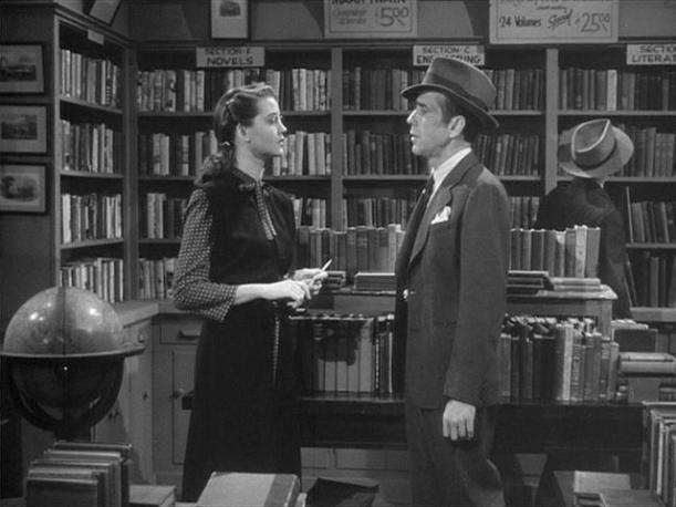 Lauren Bacall Humphrey Bogart + The Big Sleep Dorothy Malone