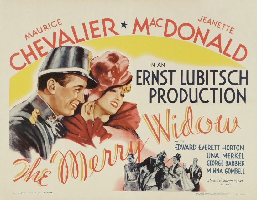 Poster - Merry Widow, The (1934)_02