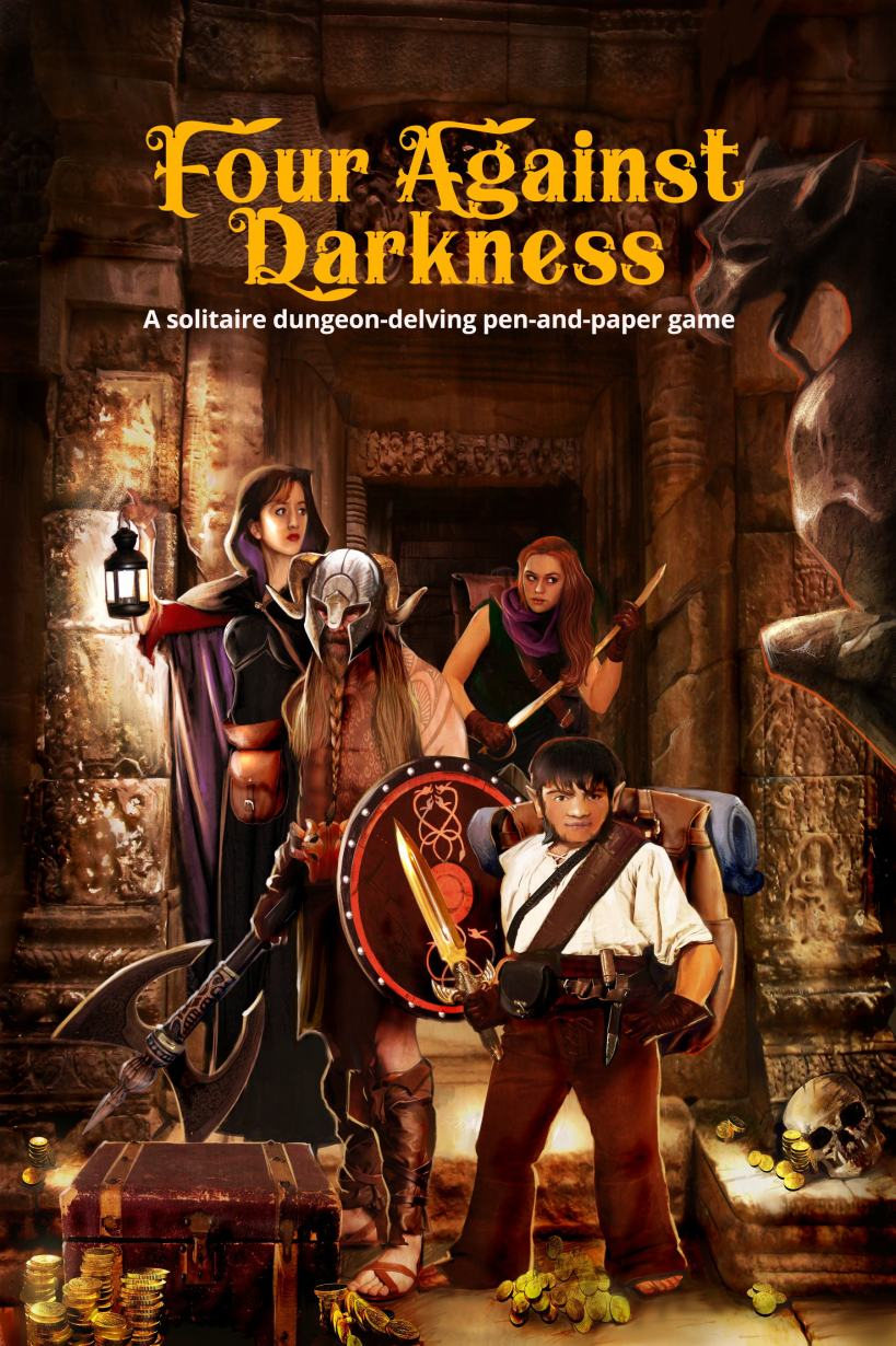 four against darkness ebook cover