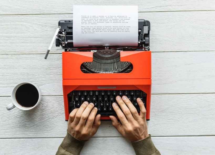 image typewriter