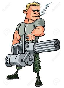 11764861-cartoon-soldier-with-a-mini-gun-isolated-on-white