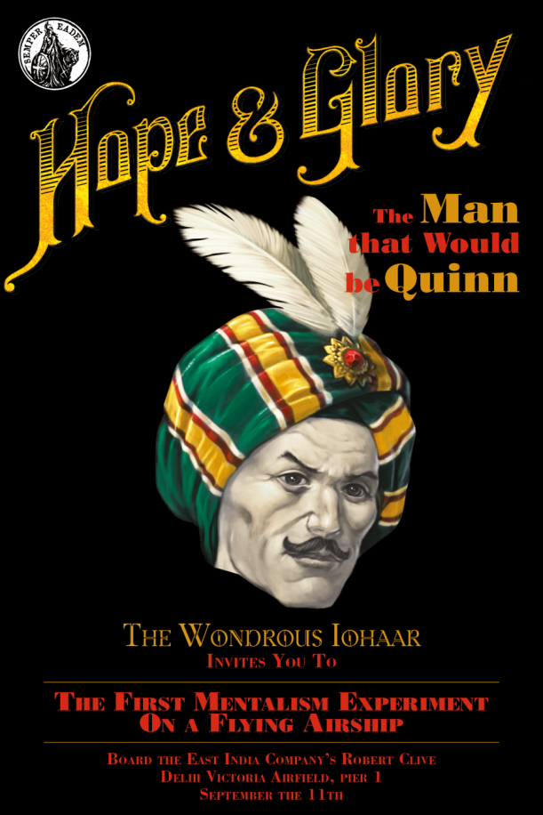 Hope & Glory – The Man that would be Quinn