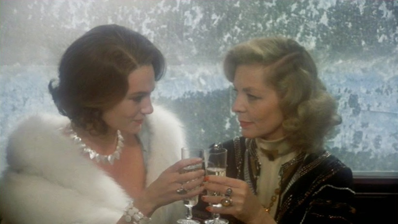 Jacqueline-Bisset-Lauren-Bacall-Murder-on-the-Orient-Express-1974