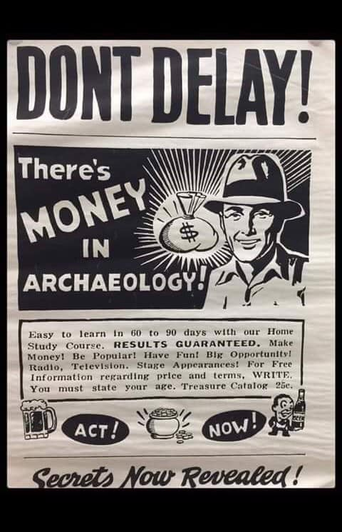 archaeology & money