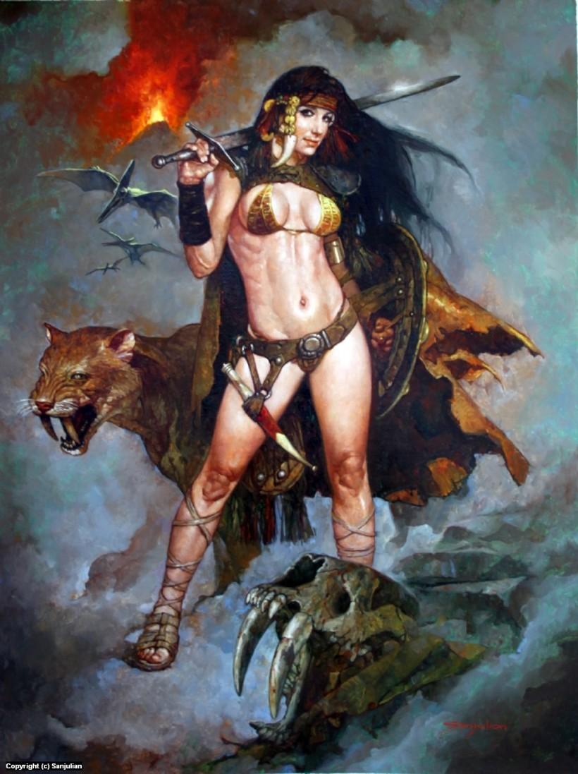 manuel-sanjulian-huntress