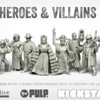 Pulp heroes & villains
